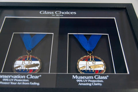framing supplies-glazing, choose glass for your frame
