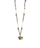 Vicky Cuero Necklace