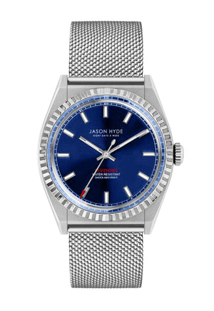 JH10005 #UNO Mesh, Blue dial