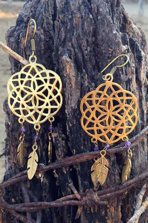 Dreamcatchers with gems