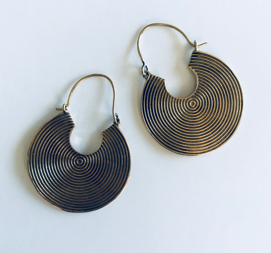 Resonance Plate Earrings