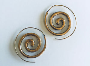 Infinite Spiral Earrings