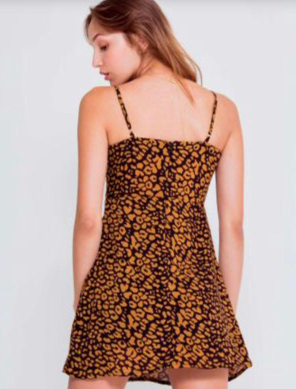 Animal print dress ref: 671A007 sizes: S/L