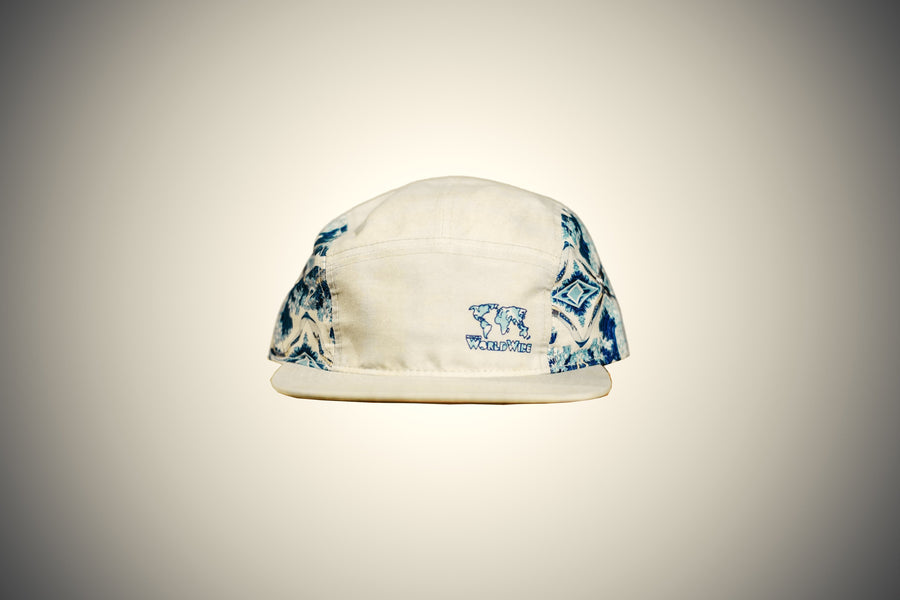 Great Waves 5 Panel Hat