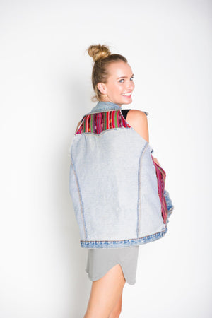 Double Sided Cape Vest