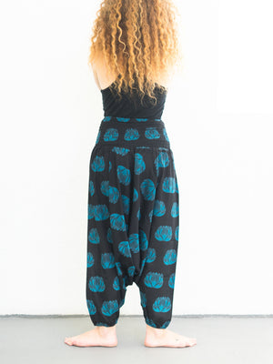 lotus harem pants