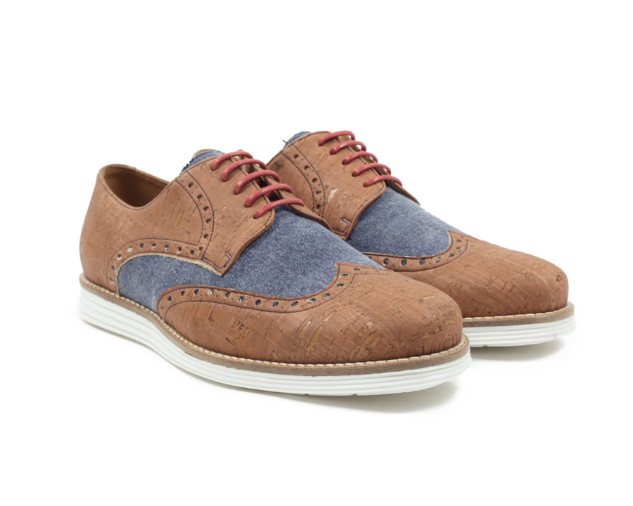 Vegan Cork Oxfords