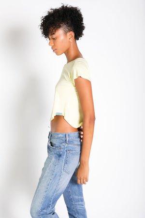 Notebook Crop Top