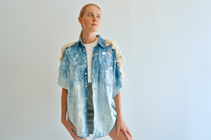 The Fringe Denim Shirt