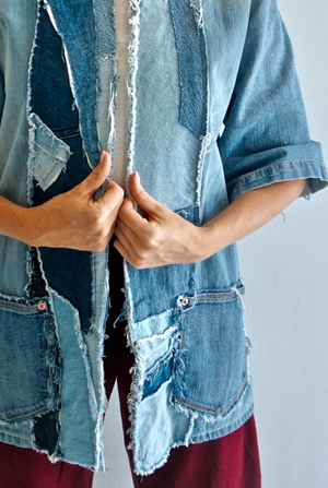 The Shawl Jean Jacket