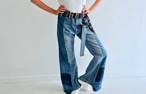 The Retro Denim Jeans