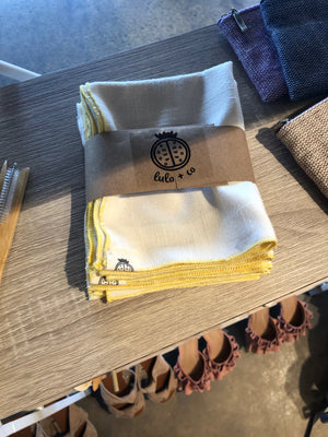 Upcycled Reusable Napkins
