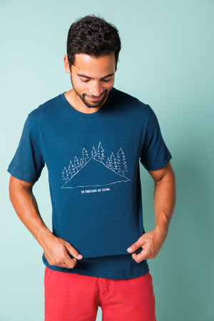 Yellowstone Into the Woods Tee
