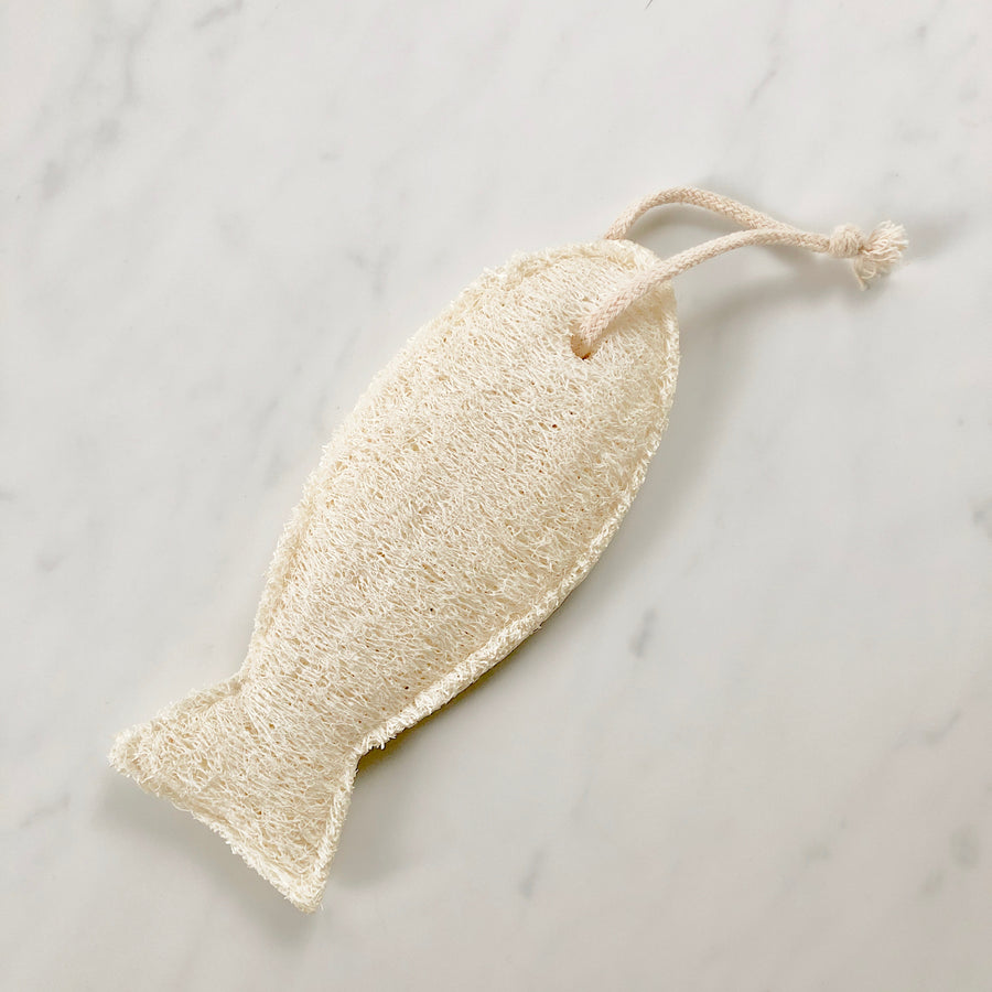 Fish Loofah Body Sponge