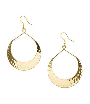 Lunar Crescent Earrings