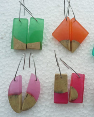 Macco Resin Earrings