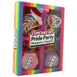 Pride Party Wrappers and Toppers Cupcake Set