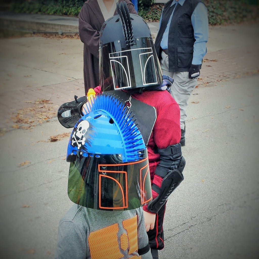Quick and Easy Kids Mando Helmet
