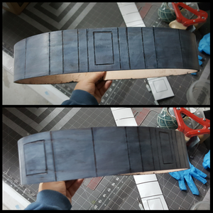 Leather Mandalorian Outer Belt