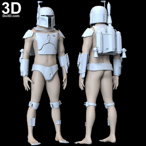 Boba Fett Costume Kit - ESB