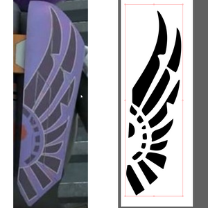 Sabine's Jetpack Wings Template