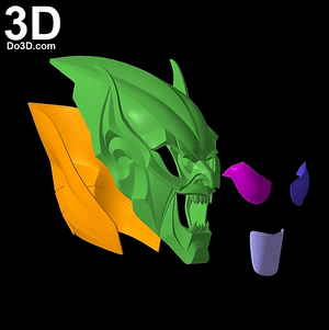 The Green Goblin Helmet