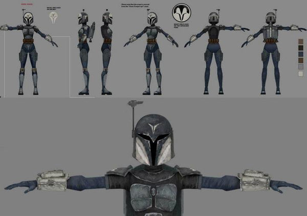 Mandalorian Death Watch Nite Owl Costume Kit