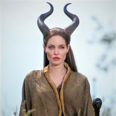 Natural Maleficent Horns - Adult and Youth Sizing