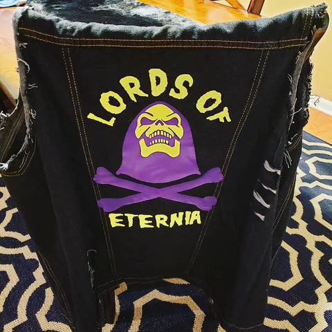 Lords of Eternia Vinyl Cutter File - Silhouette Studio
