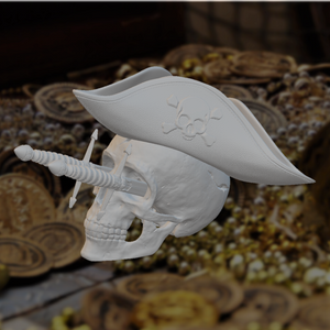 Goonies-Inspired Pirate Skull Candy Dish