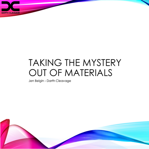 Taking the Mystery Out of Materials (Interactive PDF)