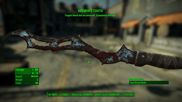 Kremvh's Tooth - Fallout 4