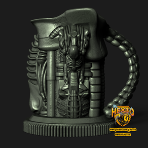Alien Themed Mug