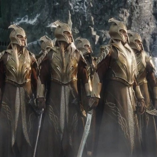 Mirkwood Elves - Armor, Helmet, and Weapons