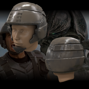 Terran Federation Infantry Helmet - Starship Troopers