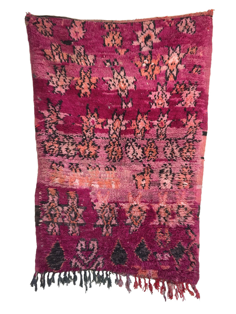 Ombre Evening -Moroccan Rug