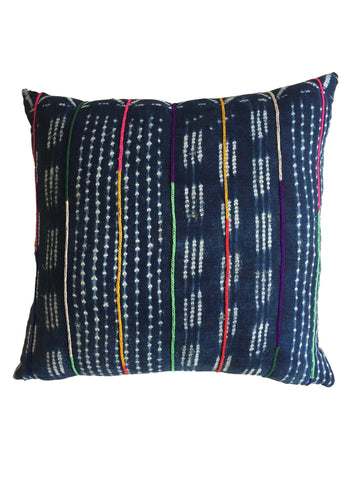 Indigo Party Pillow