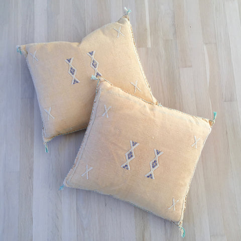 Cactus Silk pillow SET