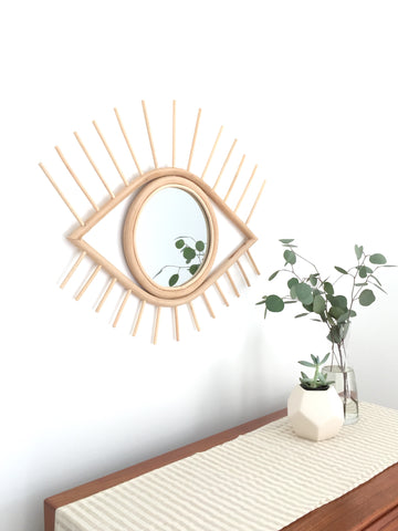 Moroccan Eye Mirror