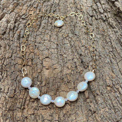 The St. John Coin Pearl Necklace