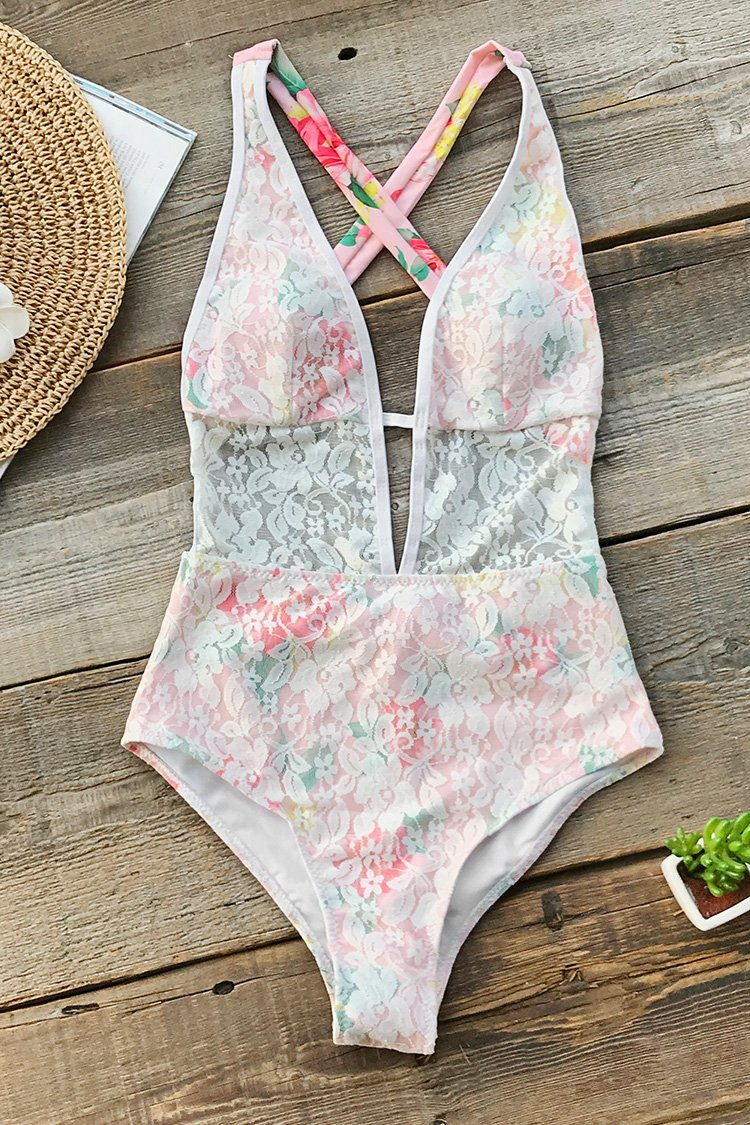 Oh My Love One-Piece Swimsuit
