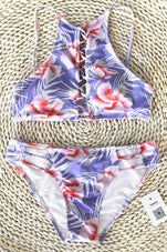 Cupshe Remember Happiness Floral Bikini Set