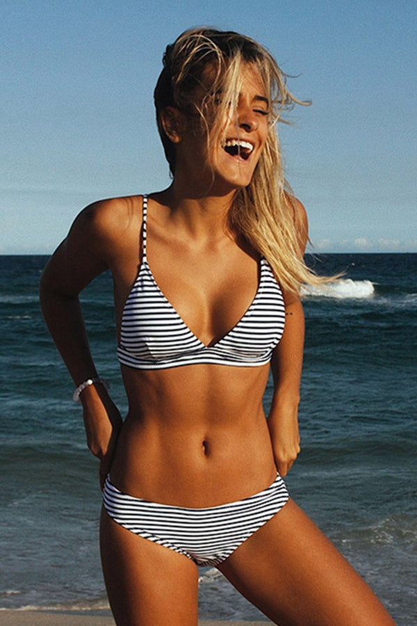 Hit Summer Stripe Bikini Set