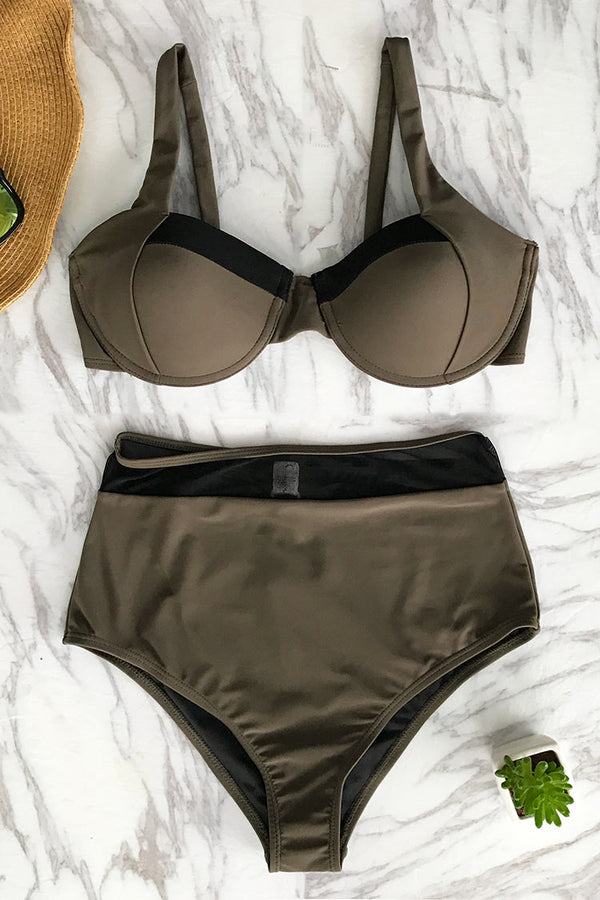 Righteous Ardour High-waisted Bikini Set