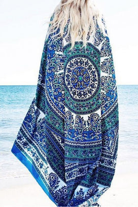 Cupshe Never End Chiffon Beach Towel