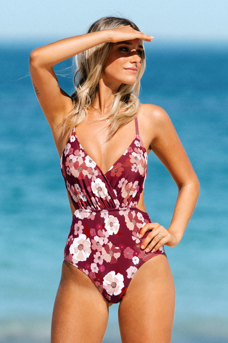 Olivia Floral One Piece Swimsuit