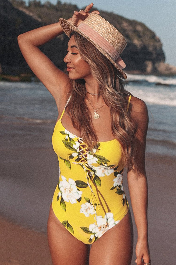Sunny Floral One-piece Swimsuit