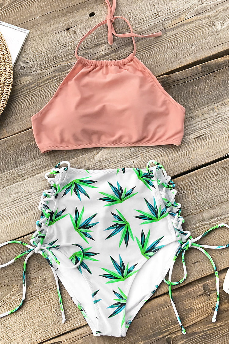 Fresh Breeze Lace-Up Bikini