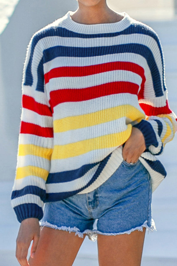 Primary Stripe Sweater