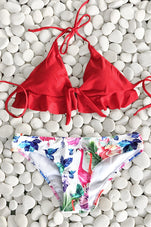 Cupshe Watch the Sunrise Halter Bikini Set